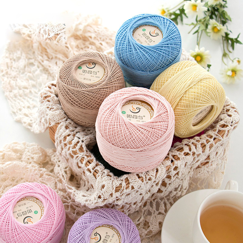 300g Summer Knitting-Tape-Yarn Cheap Lace Cotton Thin Yarn For Knitting Crochet Thread Hand Knitting 100% Cotton Blended Yarn