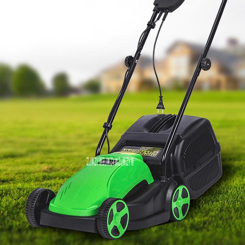 Nuovo Arrivo 1500 W Casa Prato Elettrico Tosaerba Falciatrice Toccante Push-type Lawn Mower 230 V-240 V/50Hz 330mm 2900r/min Vendita Calda