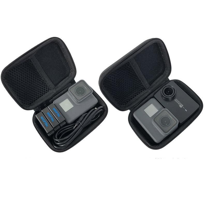 TLDGAGAS Mini Bag Portable Shockproof Storage Box Compact Waterproof Case Headset Bag Purse Zipper Packet Affordable Camera Bag