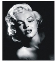 Movie Marilyn Monroe Vintage Black White Photos Home Decoration 100 Hand Painted Oil Painting On Canvas