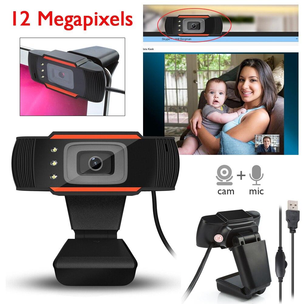 Drehbare 3 Computer Kamera High Definition 12 Megapixel nachtsicht ...