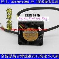Новые Оригинальные SUNON gm0501pfv1-8 20*20*10 мм 5 В 0.8 Вт 2 см Тахометр сигнала мини вентилятор охлаждения