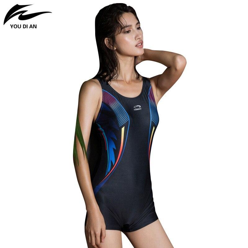acf04171bd043 ... where to buy d8ea9 4ddcd Swimsuit One Piece Black Shorts Swimwear Women  cover ups Beachwear Swimming ...