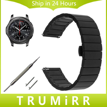 Quick Release Stainless Steel Watch Band 22mm for Samsung Gear S3 Classic Frontier Gear 2 Neo
