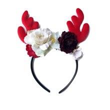 christmas flower headbands for girls women hair hair band headband  Hair Accessories Christmas Hairband