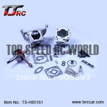 30.5CC 4 hole engine parts set for 1/5 fg baja hpi 5t,5b,ss(TS-H85161) wholesale and retail free shipping clutch bell holder spacer for 1 5 hpi baja 5b parts ts h65047 wholesale and retail