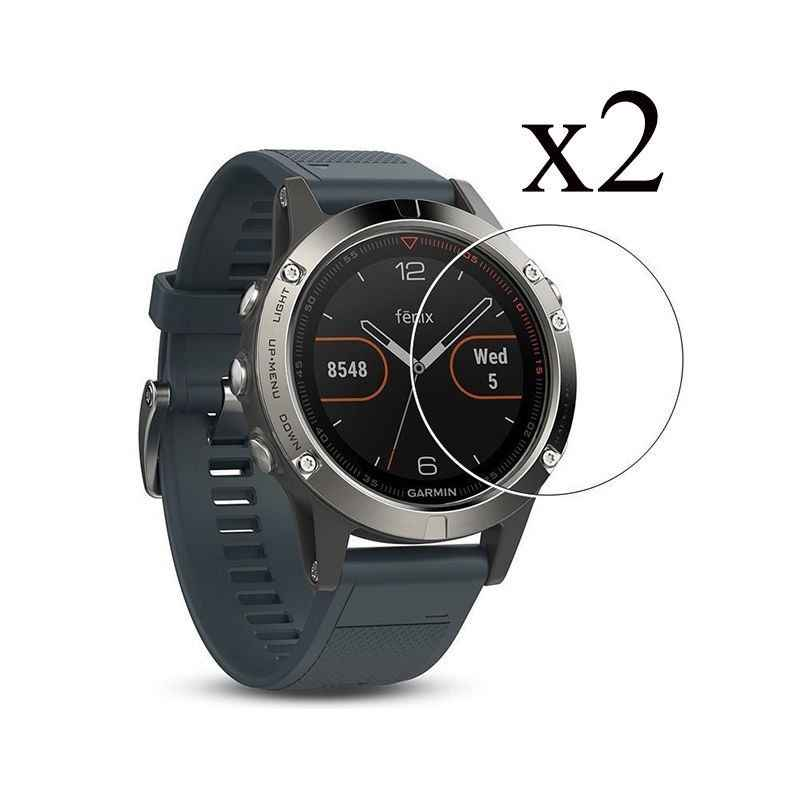2pcs For Garmin Fenix 5 / 5s / X5 Tempered Glass 9H 2.5D Premium Screen Protector FilmGarmin Fenix 5 / Fenix 5s SmartWatch