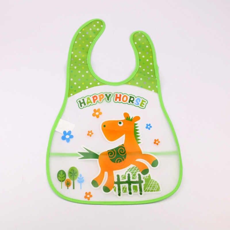 Bayi Anak-anak Lucu Kartun EVA Tahan Air Silikon Anak Lap Anak Laki-laki Perempuan Bayi Bersendawa Pakaian Feeding Perawatan FJ88