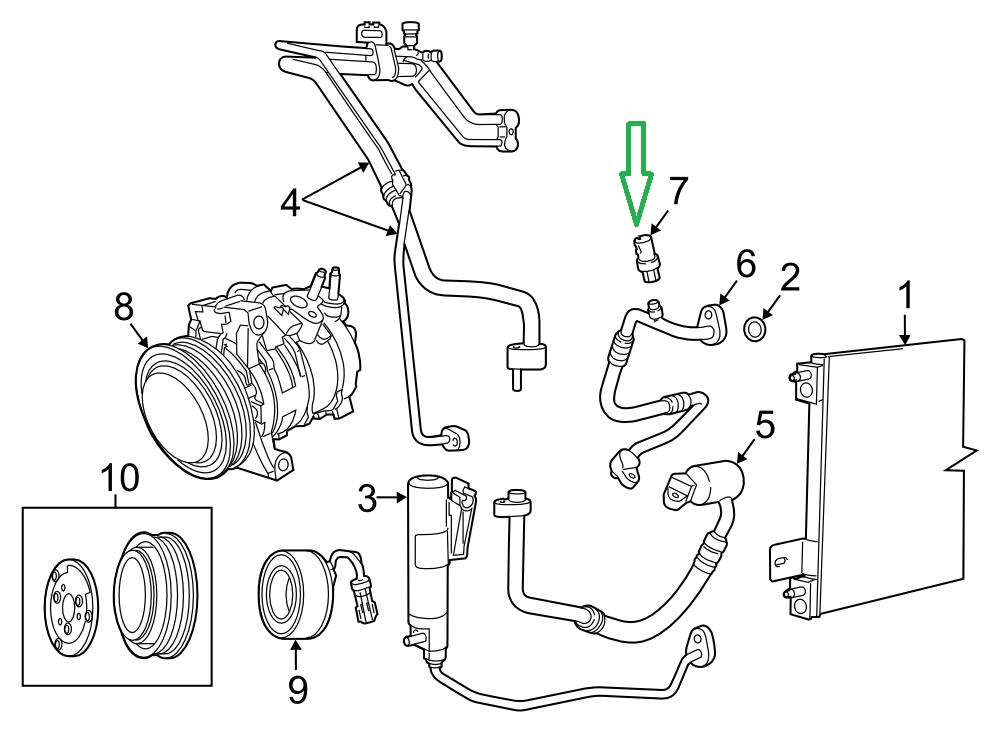 T5075022 Install air conditioner orfice tube also Ford Expedition Ac Line Diagrams 2013 further Paccar Egr Sensor Location also 2004 Ford Freestar Motor Diagram besides Vwvortex Coolant Leak Mkiii Jetta 2 0 1997 Volkswagen Engine. on 2004 ford f150 orifice tube location