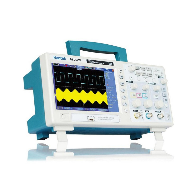 Hantek DSO5102P Digital Storage Oscilloscope 2Channels 100MHz 1GSa/s Real Time sample rate usb analyer