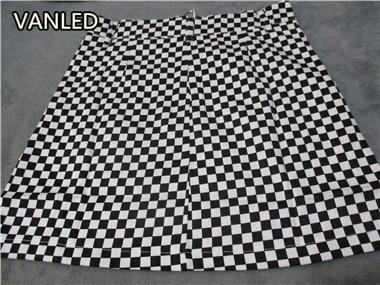 HTB1lDhdQFXXXXXAaXXXq6xXFXXXi - vintage Black White Plaid Circle Zipper Women Slim Skirt PTC 195