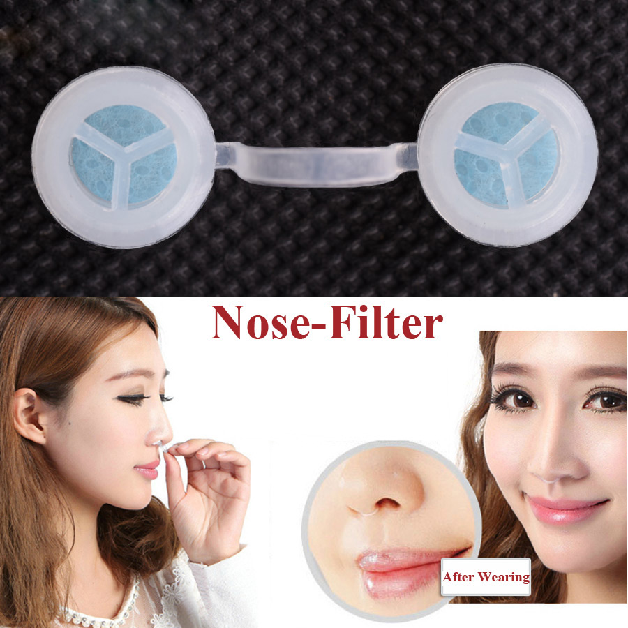 Haze Pm2.5 Flu Allergy Protection With Pit Stopper Nose Filter High Quality For Health Nose Mask Invisible Mask Nose Filters Back To Search Resultsbeauty & Health