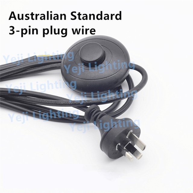 Australian standards 3pin lamp power cord with foot switch for floor australian standards 3pin lamp power cord with foot switch for floor lamps table lamps lighting keyboard keysfo Choice Image
