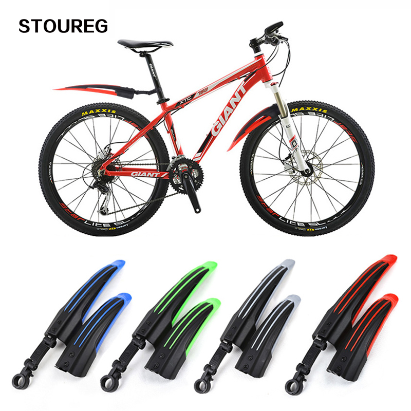 Front Rear Mudguard Fender Cycling Mountain Bike Bicycle Road Guards Fenders NEW