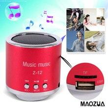 Mini Portable Z12 Bluetooth Speaker Subwoofer FM Radio Support  USB Micro SD TF Card MP3 Player Dancing Music Box