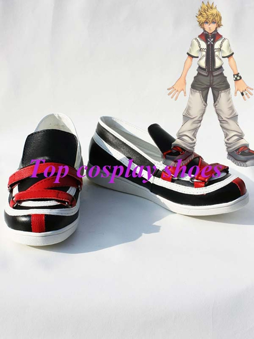 Freeshipping custom made anime Kingdom Hearts II ROXAS Cosplay Boots shoes  ver2 Hand Made for Halloween Christmas-in Shoes from Novelty & Special Use  on ...