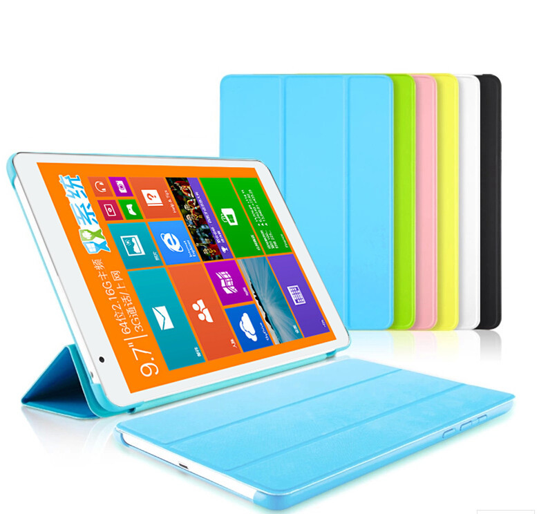 Fashion Ultra Slim Folding Pu Leather Case Cover Stand For Teclast X98 Air 3g / X98 air II / X98 Pro 9.7 Tablet PC