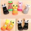 Niños Enfant Zapatos SocksToddler Niña Niño Recién Nacido Calcetines Calcetines de Bebé Antideslizantes Inferiores Suaves Piso Suelas De Goma Botas de Los Niños SES922
