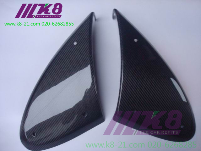 Carbon Fiber Front Bumper Air Ducts Intake Car Accessories Car Styling For LOTUS 2000 2007