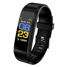 Горячая Распродажа Цвет Смарт-часы монитор сердечного ритма Cardiaco Часы Smartwatch Фитнес браслет для IOS/Сяо mi/Honor PK mi Группа 3/S3
