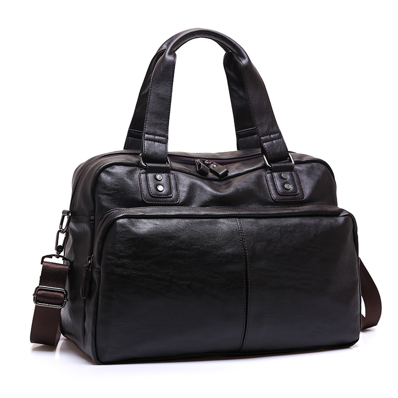 Split Leather Travel Bags Luxury Men Large Capacity Portable Male Shoulder Bags Brand Leather Quality Vintage Travel Duffle