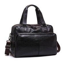 Split Leather Travel Bags Luxury Men Large Capacity Portable