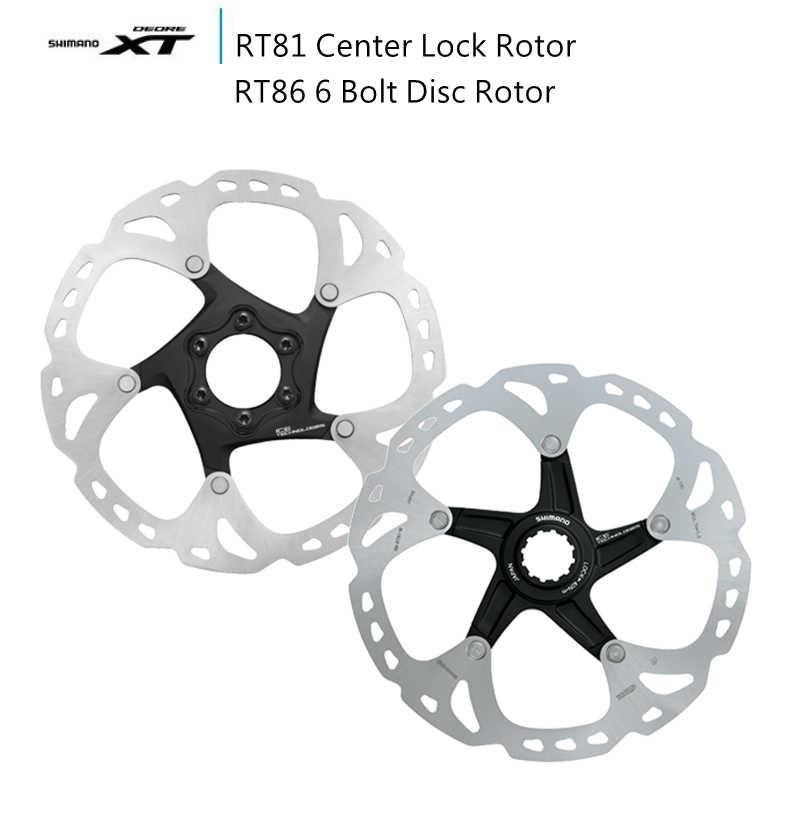 SHIMANO DEORE XT SM-RT81 160//180//203MM CENTER LOCK Ice-Tech MTB Brake Rotor Disc
