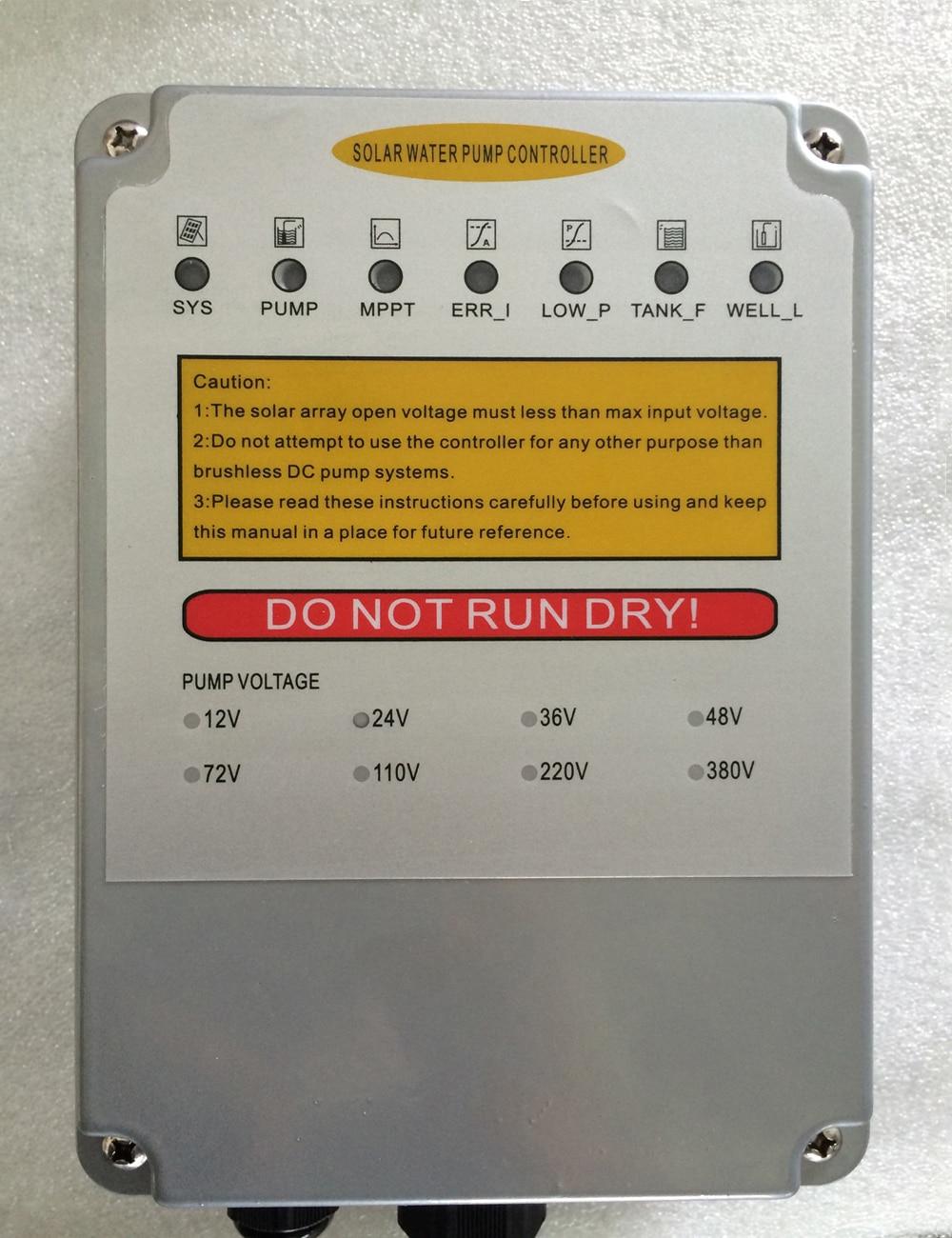 solar water pump MPPT controller DC 24V DC 36V DC 48V DC72V