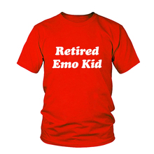 retired emo kid tumblr shirt hipster grunge instagram T-shirt