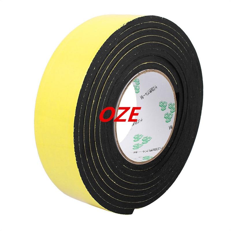 1PCS 45mm x 5mm Single Sided Self Adhesive Shockproof Sponge Foam Tape 3 Meters 45mm 33 meters 0 08mm single sided high