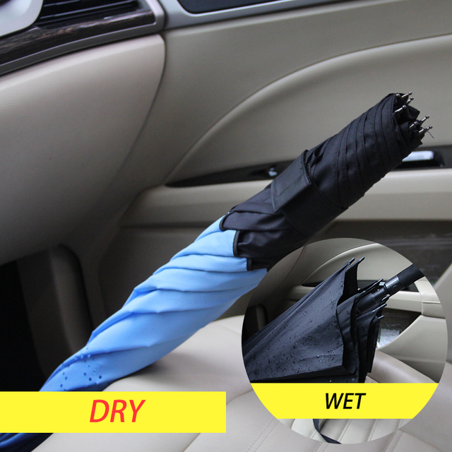 Bachon reverse windproof umbrella large umbrella auto close double-layer inverted umbrella female male car men women umbrella