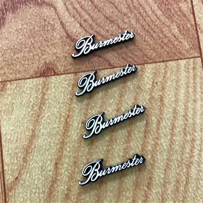 4Pcs Car Styling Audio Speaker Stickers For Burmester For <font><b>Mercedes</b></font> <font><b>Benz</b></font> W205 W204 W212 203 W211 W124 <font><b>W210</b></font> AMG <font><b>Accessories</b></font> image