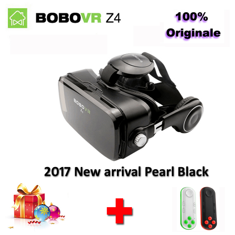 New Arrival Original Xiaozhai BOBOVRZ4 mini 3D Virtual Reality VR goggles BOBO VR google Cardboard boxes for 4.7-6.2 inch phone