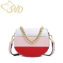 c4abb6c3c576 Saddle bag 2019 Fashion female bag patchwork shoulder crossbody bag  guangzhou Women s bag Wholesale PU Leather