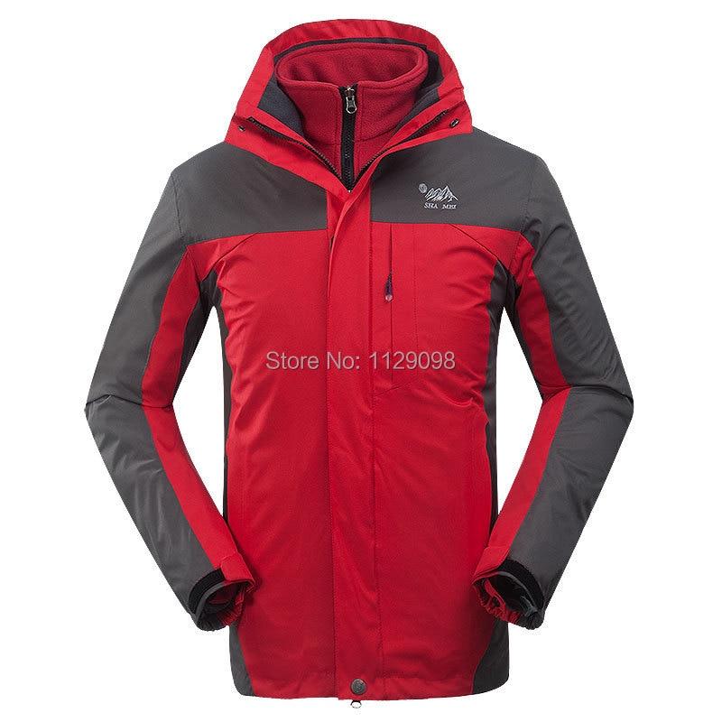 Mens Name Brand Waterproof Jacket Outdoor Clothes Orange Winter ...