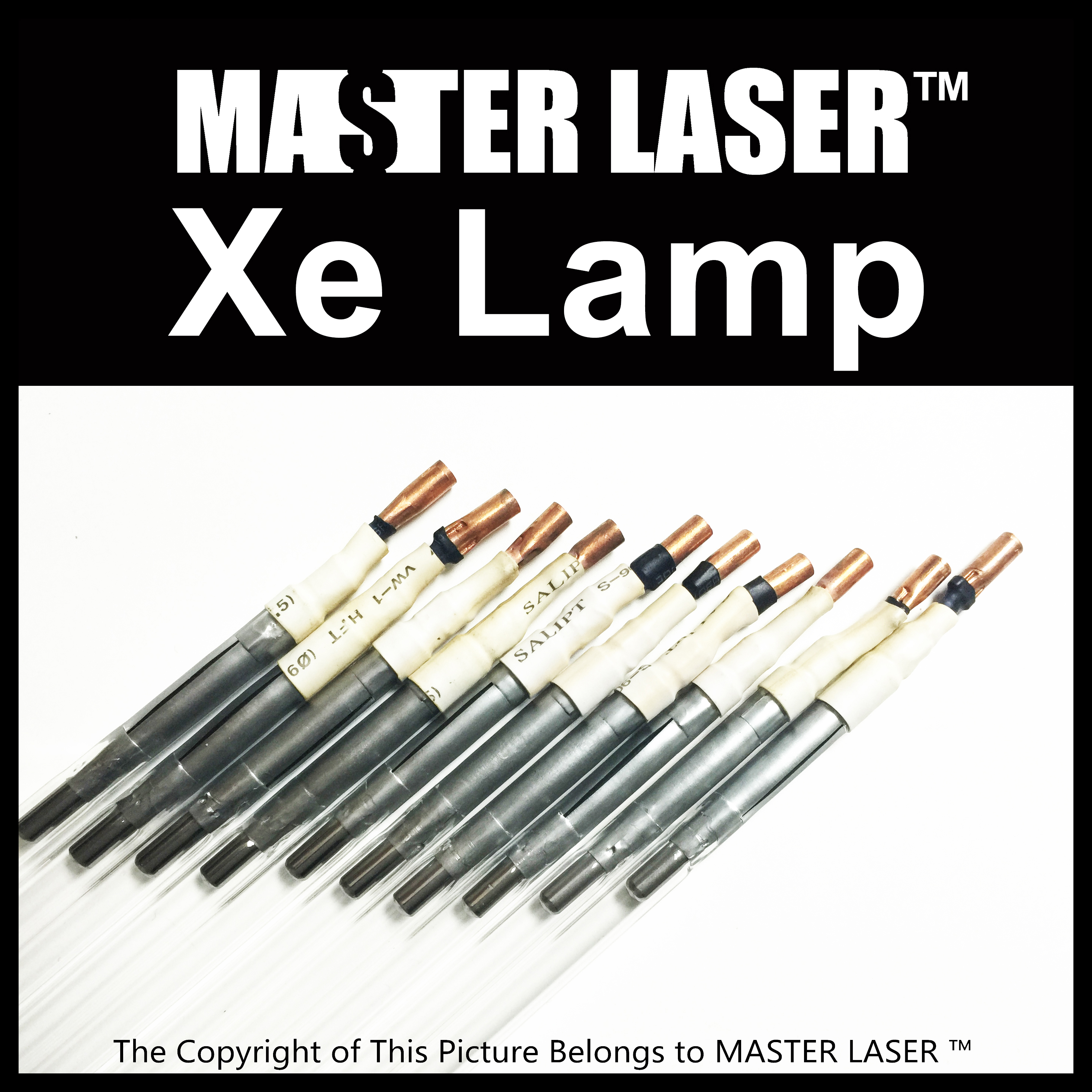 Best Quality 1064nm YAG laser machine Xenon Lamp  Xe Lamp free shipping 1064nm laser protective glasses for workplace of nd yag laser marking and cutting machine supreme quality