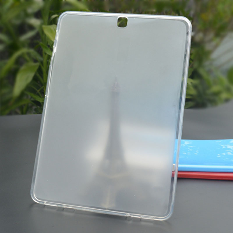купить Soft Back Case Ultra Slim TPU Silicone Rubber Case Cover FOR SAMSUNG GALAXY TAB S2 9.7 SM-T810N T813 T817 T819 T815 Tablet case недорого