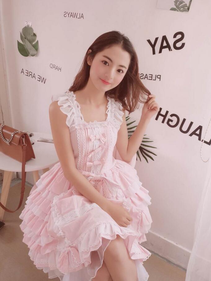 Women Girl Summer Cosplay Dress Lolita Chiffon Lace Medieval Gothic Princess Halloween Costumes Carnival Dresses