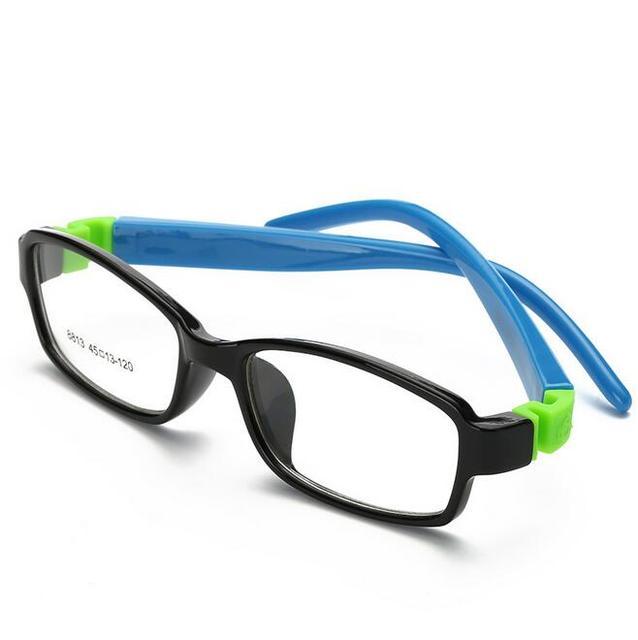 a9641740da448 Moda de Nova Bonito Crianças Óculos de Armação de Acetato de Borracha Flexível  Óculos Crianças Óculos