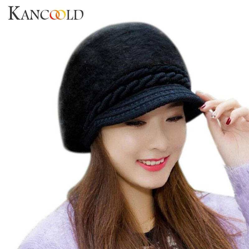 4 Color Fashion Women Crocheted Stylish Hat Autumn Winter Skullies Beanies Visors Knitted Hats Rabbit Fur Cap Guantes Hats Dec26 cult of wolf and world tree in eurasian and american native peoples