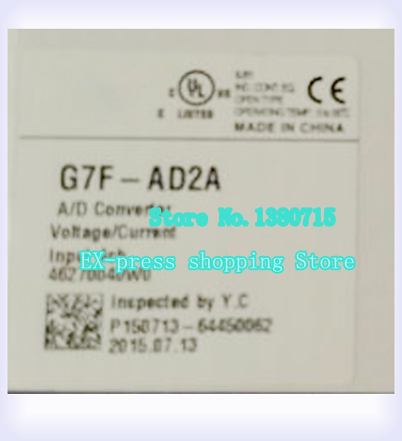 G7F-AD2A Analog quantity 4 road Input expansion module newG7F-AD2A Analog quantity 4 road Input expansion module new