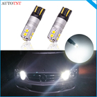 2pcs W5W T10 LED Aut...
