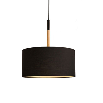 Led Modern Pendant Light Lamp Fabric Lampshade Two Classic Color Free Shipping