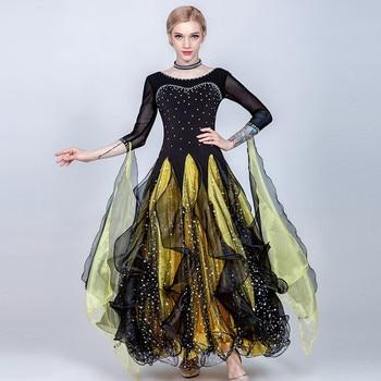 1abacbd7c8a Vestidos de baile de salón de baile para mujer vestido de baile estándar  vestido de baile de vals trajes de baile para Niñas Ropa de baile para  mujer swing