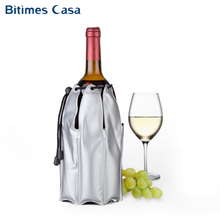 Sleeve Pvc Wine Champagne Cooler Bag With Adjust Rope Substantial Cold Gel 6 Branch Outdoor Picnic Beer Cooling