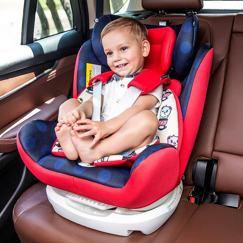 Voiture enfant siège de sécurité ISOFIX interface dure 0-12 ans bébé peut poser