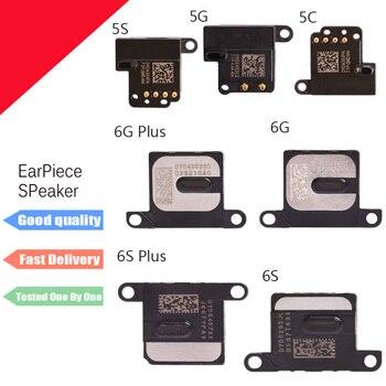 2pcs/lot 100% New Earpiece Ear Speaker Sound Receiver Flex Cable For iPhone 5 5S SE 5C 6 6S 7 8 Plus X Replacement Repair Parts