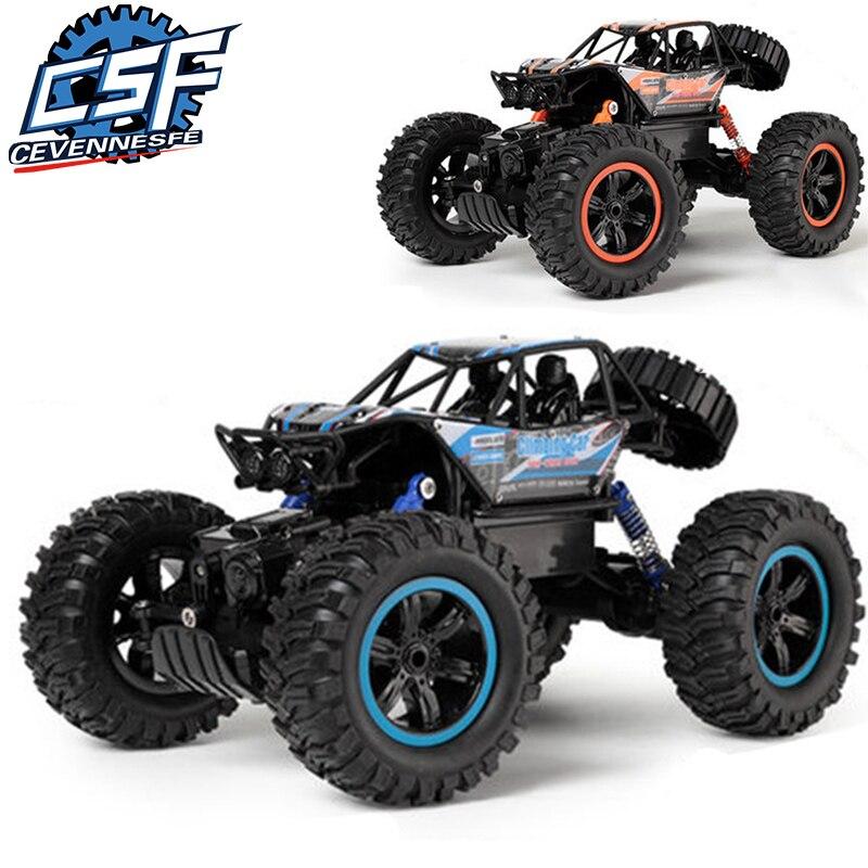 Voiture RC 1/14 4WD télécommande haute vitesse véhicule 2.4 Ghz électrique RC jouets monstre camion Buggy tout-terrain jouets enfants Suprise cadeaux