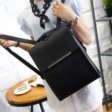 Корейская версия большой емкости средней школы студенты прилив женщин Япония простой мешок плеча рюкзак путешествия