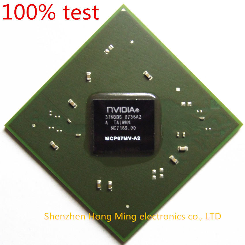 100 test very good product MCP67MV A2 MCP67MV A2 bga chip reball with balls IC chips